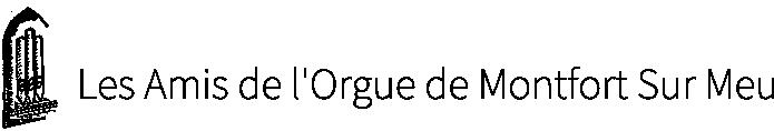 Les amis de l'orgue de Montfort sur Meu Logo