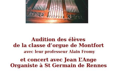 Journées de l'orgue 2019